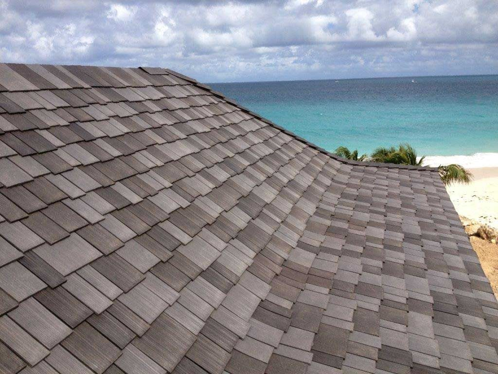 Grey Roof by the beach